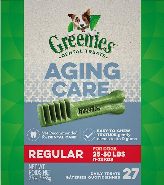 GREENIES Senior Aging Care Dental Dog Treats