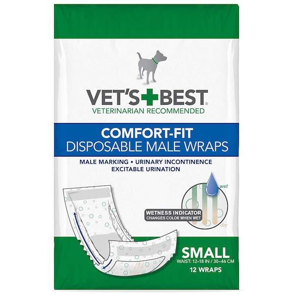Vet's Best Disposable Male Dog Diapers