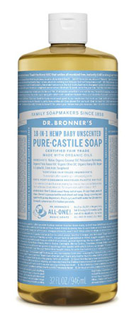 Dr. Bronner's Pure Castile Baby Soap