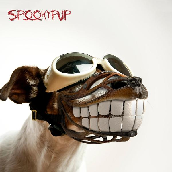 Spookypup Muzzle With Large Teeth