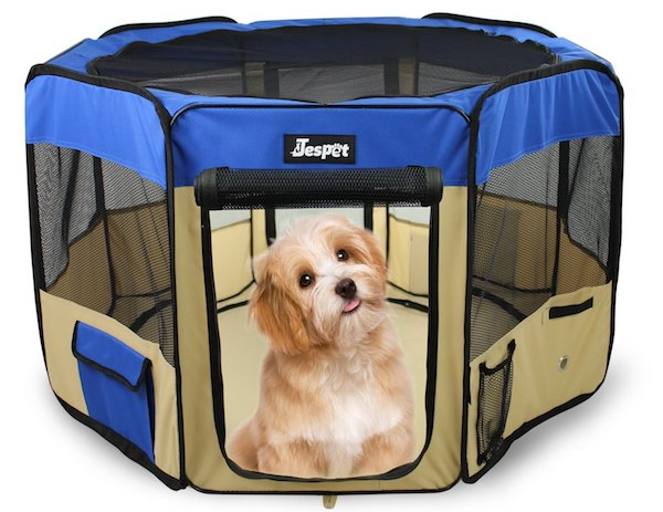 Jespet soft-sided pet playpen