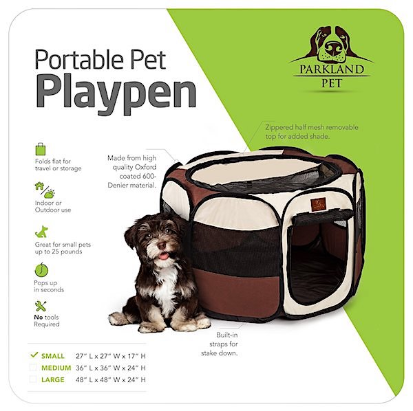 ​  Parkland Pet Portable Playpen