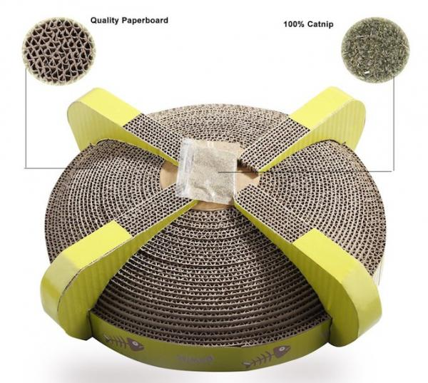 PAWISE UFO Cat Scratcher Reversible Cat Scratcher Lounge