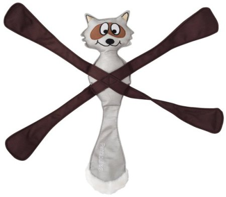 Doggles PentaPulls Raccoon Dog Toy