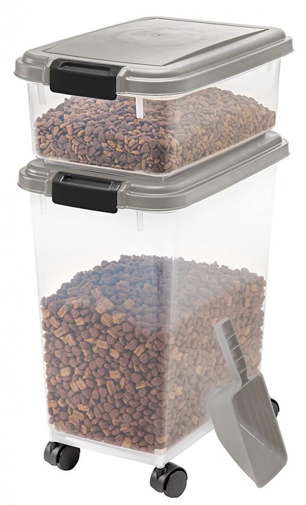 Iris 3 Piece Airtight Pet Food Container