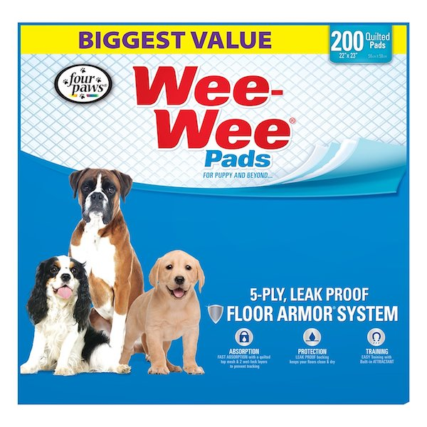 Four Paw Wee-Wee Pads