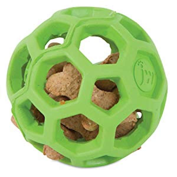 JW Hol-ee Roller Treat Dispensing Dog Ball