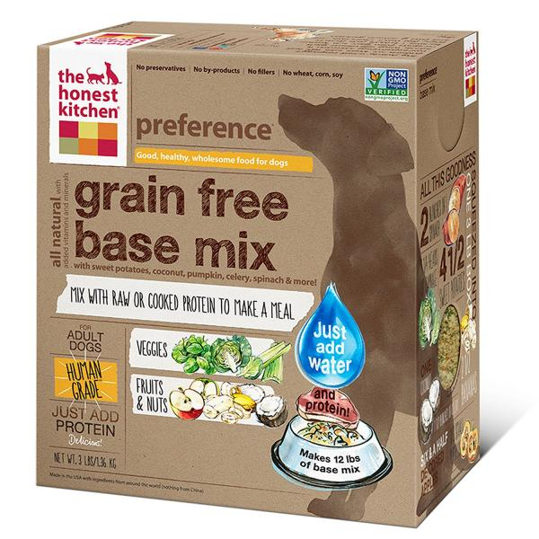 The Honest Kitchen Grain Free Base Mix
