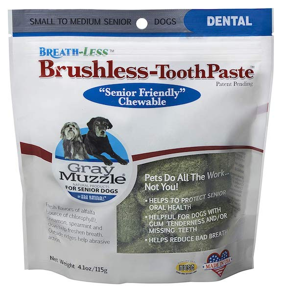 Ark Naturals Gray Muzzle Brushless-ToothPaste