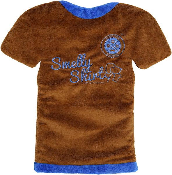 Smelly Shirt dog toy