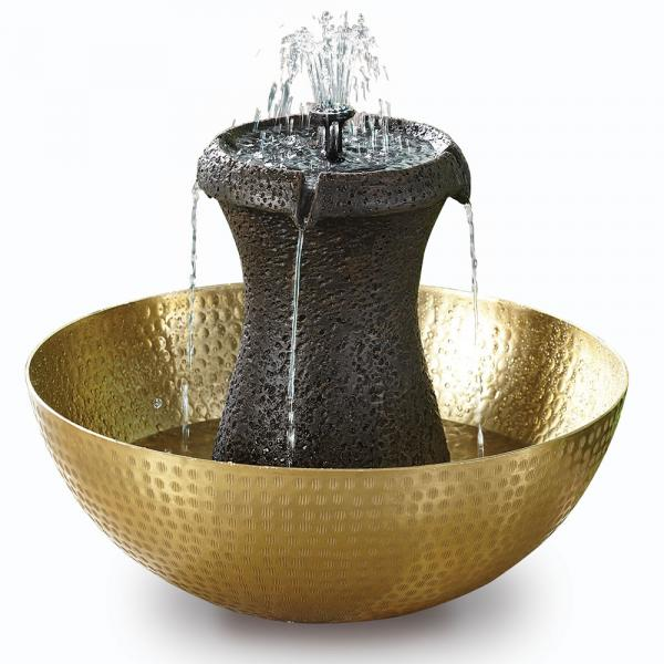Cordless Birdbath Fountain