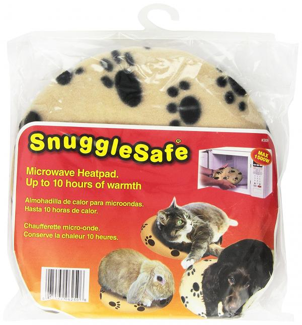 Snuggle Safe Microwave Pet Heating Pad