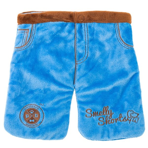 Smelly Shorts dog toy