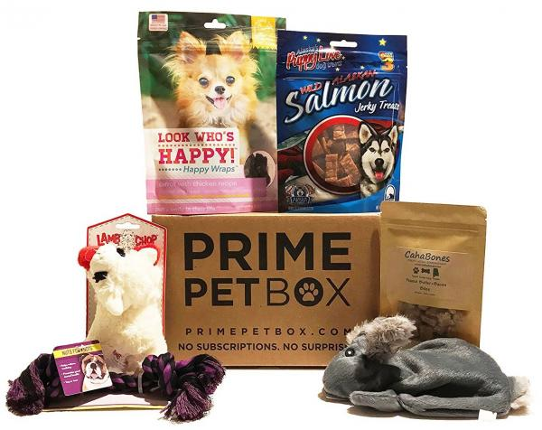 Prime Pet Box Small Dog Gift Box