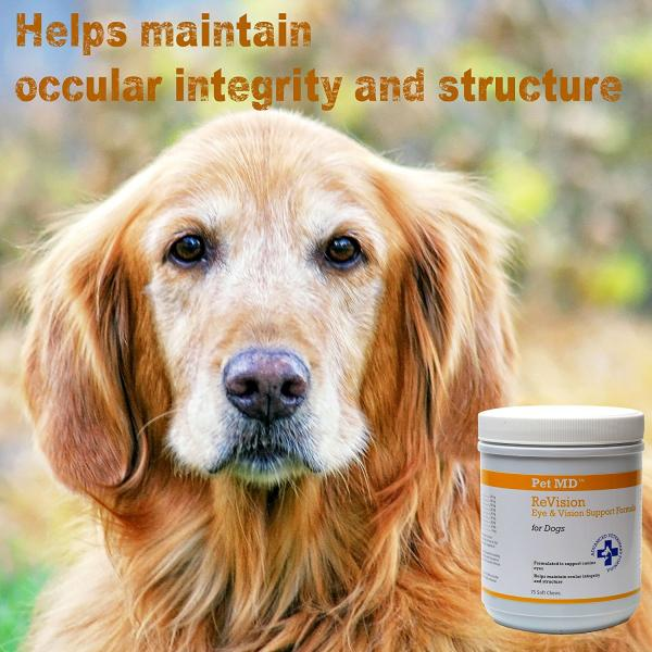 Pet MD Vision Supplements For Dogs
