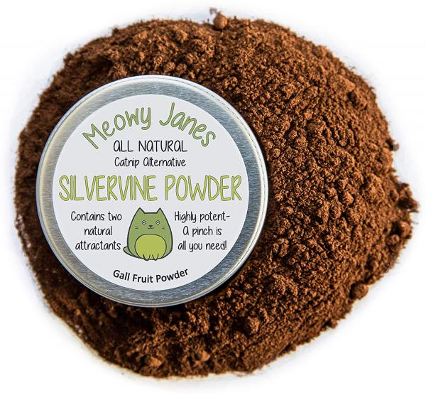 Meowy Janes Silvervine Powder for Cats