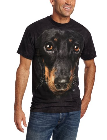 Daschund Face T-Shirt by The Mountain
