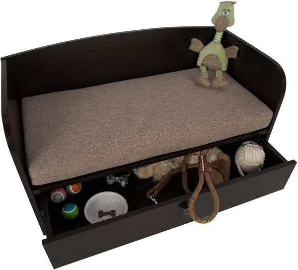 Paws & Purrs Pet Bed with Storage Drawer