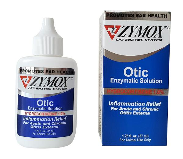 Zymox Pet Ear Treatment With Hydrocortisone