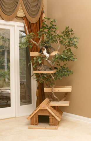 Tree House For Cats: ©Pet Tree House, LLC