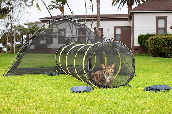 Outback Jack Outdoor Portable Cat Tent & Tunnel