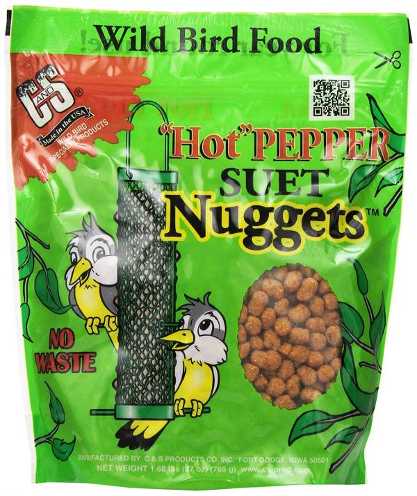 C&S Hot Pepper Suet Nuggets