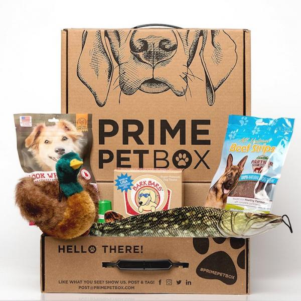 Prime Pet Box Wildlife Dog Gift Box