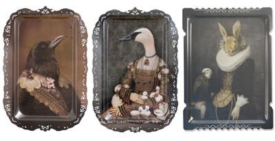 Royal Animal Portraiture: Source:IBRIDE-nest.co.uk