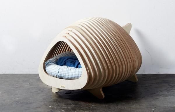 Sakana Fish Bed from Tuft + Paw