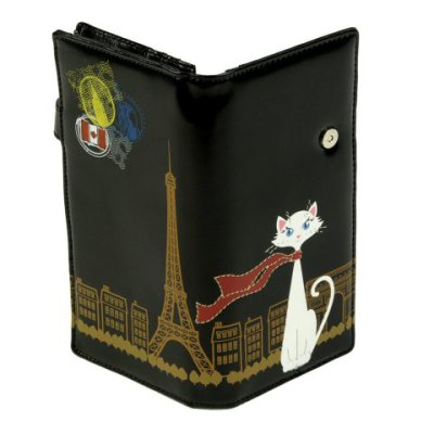 Cute Cat In Paris Wallet Petslady Com