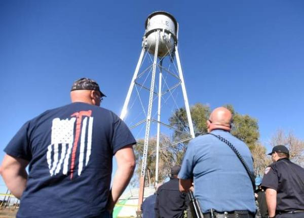 Cat Stranded Atop Water Tower Saved By Thirst Responders