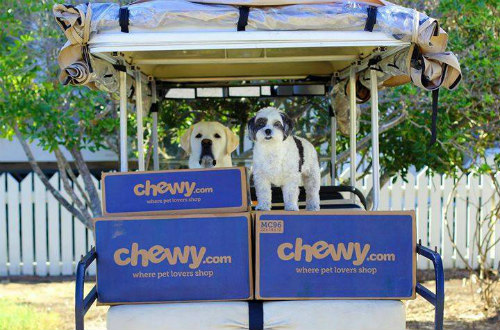 Chewy.Com Wants To Be Your Go-To Source For Pet Product Home Delivery: Image via Chewy.com Facebook