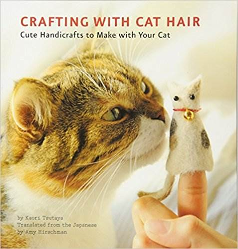 Crafting with Cat Hair book on Amazon