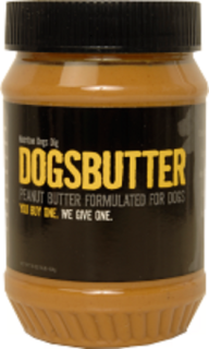 Dogsbutter, recalled with other Sunland Inc manufactured peanut butters