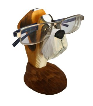 this pup will hold your glasses without slobbering on them