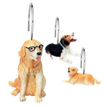 Dog Shower Curtain Hooks: Dog Shower Curtain Hooks