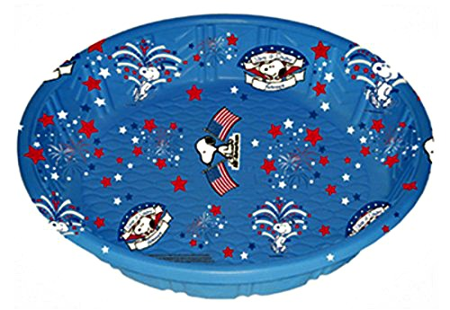 Dog Summer Safety Tips: Plastic kiddie pools make great doggie pools as well