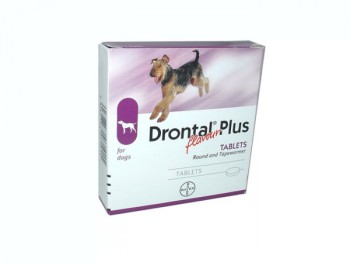 Drontal Plus Deworming Tablets
