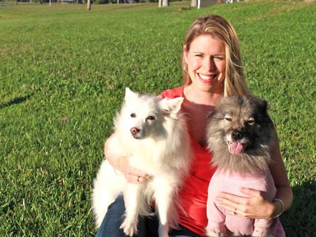 April McCoy and friends