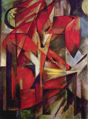The Fox by Franz Marc: The Fox by Franz Marc
