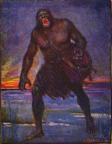 Grendel (Public Domain Image)
