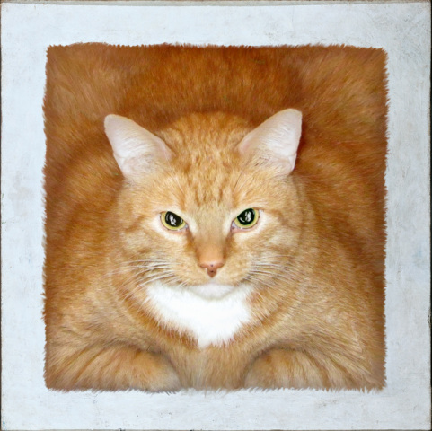 Red Square (or Cat's Suprematism), according to FatCatArt.ru