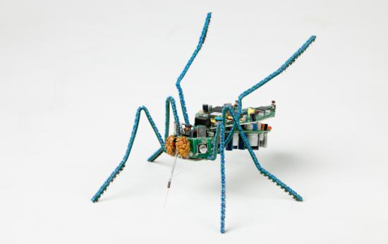 Mosquito Art by Rodrig: Mosquito Data Drainer