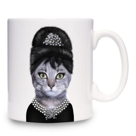 Audrey (Hepburn) Mug: ©Takkoda