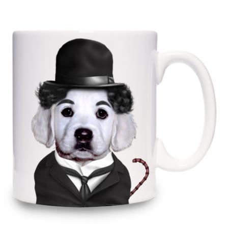 Chaplin Mug: ©Takkoda