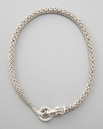 Naga Diamond Necklace from Nieman Marcus