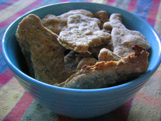 PB Dog Biscuits: Image by Rusvaplauke, Flickr