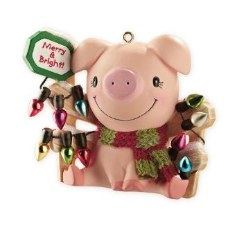 10 Adorable Christmas Ornaments for Pig Lovers | Petslady.com