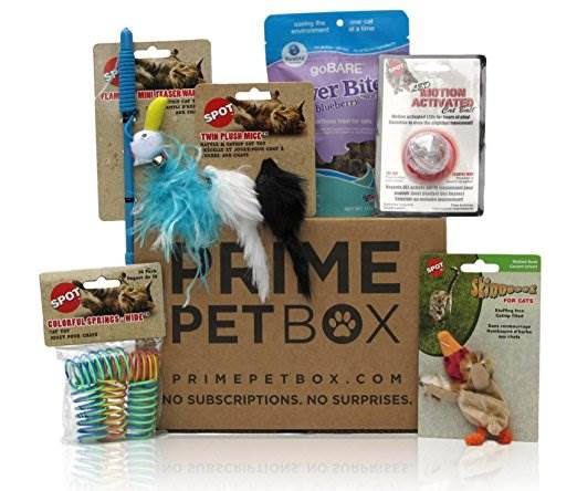 Prime Pet Boxes make great gifts