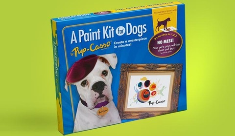 Pup-Casso paint kit for dogs: © Art-Casso